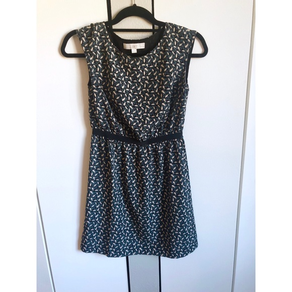 LOFT Dresses & Skirts - Abstract Print Ann Taylor LOFT Dress